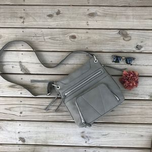Grey Crossbody Bag Purse